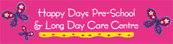 Happy Days Pre-School  Long Day Care Centre - Child Care Canberra